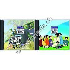CD-ROM: elberfelder bambini Bibbia parte 1 & 2 a 2 CD-ROM-il KIDS-programma Bibbia