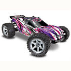 Traxxas 67076-4 - Rustler VXL Brushless 1/10 4X4 Stadium Truck W/TSM RTR, Pink