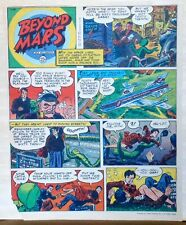 Beyond Mars by Jack Williamson - Army Times full tab Sunday page - July 25, 1954