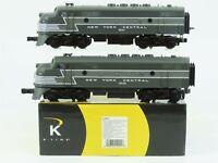 O Gauge 3-Rail K-Line K-25701 NYC New York Central F3 A/A Diesel Loco Set w/TMCC