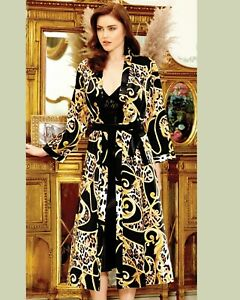 Women Top Quality Luxury Satin and Lace Nightdress and Robe    European Products