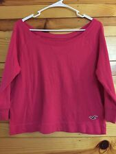 *HOLLISTER* Women's Pink Top Size S