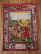 Collection Jeunesse hebdo n°79 Le camp des sans souci. Line Deberre 27 mars 1952