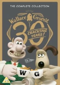 Wallace and Gromit The Complete Collection 30 Cracking Years New  DVD