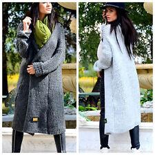 Damen Strickjacke Pullover Pulli Cardigan Mohair NEU 36 38 40  S M L