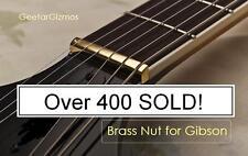 USA MADE GeetarGizmos BRASS GUITAR NUT made for Gibson Les Paul 335 SG ES...