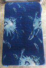 Vtg Robert Wyland Art Dolphin Twin Comforter & Flat Sheet Set Bedspread Sea Life