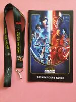 Star Wars Celebration Chicago Show Lanyard AND Show Guide!! 2019 NEW!!