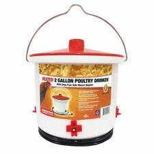 Farm Innovators Inc Heated Poultry Npl Waterer 2pc 2gal Hb 60p