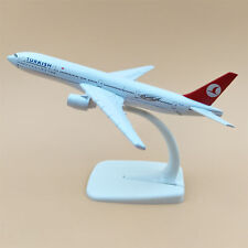 16cm Airplane Model Plane Air TURKISH Airlines Boeing 777 B777 Aircraft Model