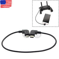 Cable for DJI MAVIC PRO AIR Spark Drone Remote Controller RC to Type-C USB Phone