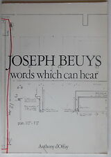 Joseph Beuys - Words which can hear - Anthony d'Offay - 1981