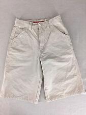 "Union Bay Cargo Walking Shorts Khaki Girls Size 10 25"" Waist"