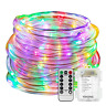 YIHONG Fariy Lights LED Rope Lights Battery Operated String Lights 33ft 8 Mode