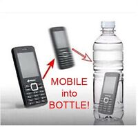 Phone into Bottle - close up magic tricks