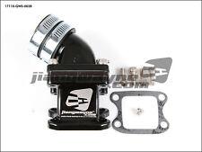 HONDA Dio ZX Elite Giorno AF16/18/27 DD50 - 4 Reeds Power Intake Manifold BLACK