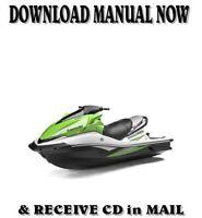 Kawasaki Ultra 250X PWC factory repair shop service manual on CD ( 2006-07 )
