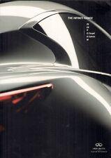 Infiniti M G EX FX 2010-11 UK Market Sales Brochure