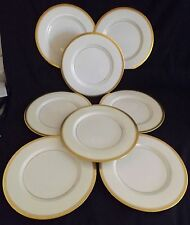 Theodore Haviland NY Berkeley Set of 8 Dinner Plates 10 3/4