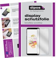 6x OnePlus 5T Film de protection d'écran protecteur clair dipos
