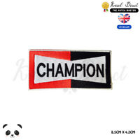Champion Motor Racing Embroidered Iron On /Sew On Patch Badge For Clothes etc