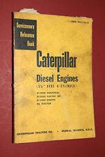 Vint.Caterpillar Servicemen repair reference manual/book Diesel Engines 6 cyl.