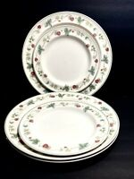 Wedgwood Raspberry Queen's Ware Dinner / Salad Plates