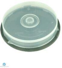 1 Cd, Dvd, Plástico Pastel Tina contiene 10 Discos De Eje Caja de almacenamiento vacío Nueva Funda