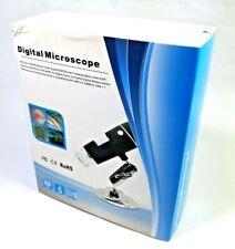 Microscopio Digital 1000x 2MP 8 LED USB ampliación Cámara HD CMOS Sensor