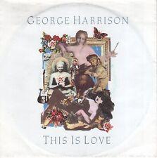 7inch GEORGE HARRISON this is love GERMAN EX (S2598)