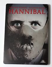 Hannibal Anthony Hopkins Limited Edition STEELBOOK 2 DISC DVD USA Like NEW