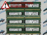 Crucial 32 GB (4x 8 GB) DDR4-2133 PC4-2133P CT8G4RFS4213 CL15 1,2V Server Ram