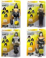 "Mego KISS 2018 Gene Paul Ace Peter Numbered Limited Editions Figure 8"" set 4 NEW"