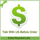 For Pay Order Difference Payment,difference of the shipping cost ,other payment