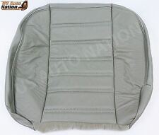 03 04 05 06 07 Hummer H2 Driver Side Bottom Replacement Vinyl Seat Cover Gray