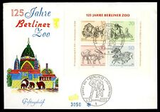 Germany BERLIN FDC 1969 Berliner Zoo Numbered 3050 1969 FDC FREE UK P&P