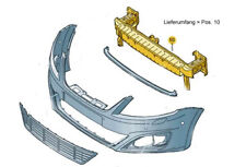Original SEAT Alhambra Stoßfänger vorne: Träger Halter Befestigung