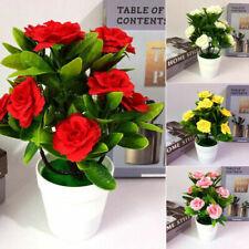 Fleurs artificielles et séchées de décoration intérieure bonsais en soie