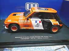RENAULT 5 Turbo Cup Europe 1981 #41 Gouhier europcar UH Eagles 1:18