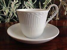 Real Copenhagen Blancas Mitad de Encaje - Taza Café Alto Asa con Platillo Nuevo