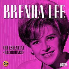 Essential Recordings - 2 DISC SET - Brenda Lee (2015, CD NEUF)