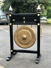 More details for absolutely huge dinner gong, stately home size, over 6 feet tall.