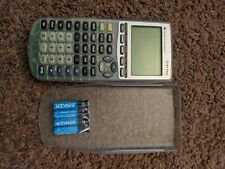TEXAS INSTRUMENTS TI-83 PLUS SILVER EDITION CLEAR CASE GRAPHING CALCULATOR