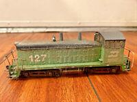 Vintage ATHEARN Burlington Northern BN 127 HO Diesel Switcher Locomotive RARE
