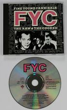 FINE YOUNG CANNIBALS The Raw & The Cooked CD album 1988 made in W.Ger  FYC