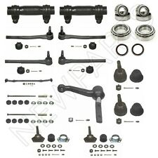 NEW Inner & Outer Tie Rod End & Adj Sleeves & Ball Joints for Chevy Caprice Kit