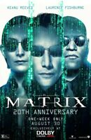 """The Matrix  ( 11"""" x 17"""" ) Movie Collector's Poster Print KEANU REEVES 20 Years"""