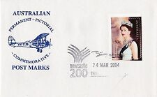 Permanent Commerative Pictorial Postmark - Newcastle 24 Mar 2004 - 50c