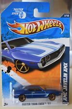 HOT WHEELS AMC JAVELIN AMX 2/10 FASTER THAN EVER K-MART DAYS NEW