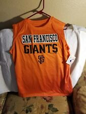 SAN FRANCISCO GIANTS SHIRT - YOUTH XL - SLEEVELESS - NWT